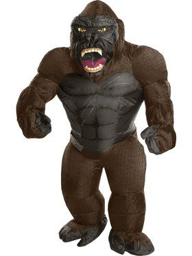 Child Inflatable King Kong Costume