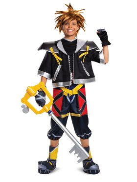 Deluxe Kingdom Hearts Sora Costume for Kids