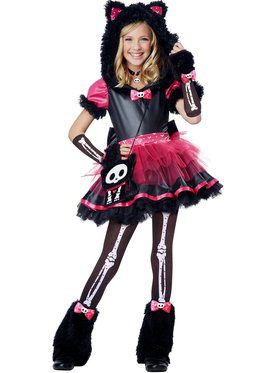 Kit The Kat Deluxe Girl's Costume