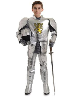 Knight In Armor Boy's Costume