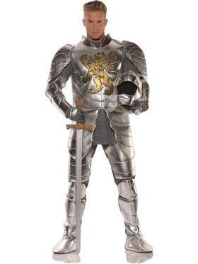 Knight in Shining Armor Men's Costume