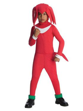Knuckles Sonic the Hedgehog Boy's Costume