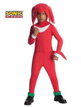 Knuckles Sonic the Hedgehog Boys Costume