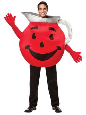 Kool-Aid Man Costume For Adults