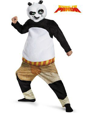 Kung Fu Panda Po Muscle Chest Deluxe Boy's Costume