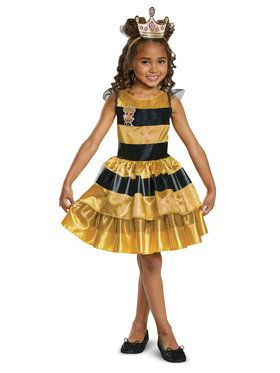 Queen Bee L.O.L. Dolls Classic Costume for Children