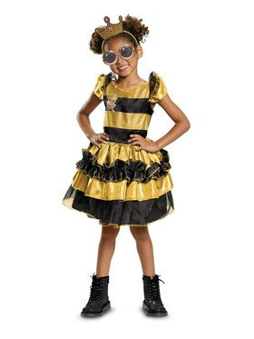 Deluxe Queen Bee L.O.L Costume for Children