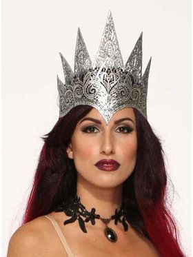 Lace Queen Crown for Adults