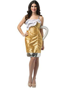 Ladies Beer Mug Adult Costume