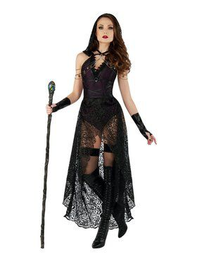 Sassy Dark Priestess Costume for Adults