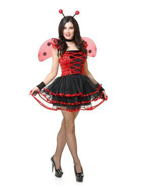 Women's Lady Bug Cutie Costume