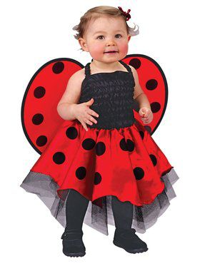 Lady Bug Newborn Infant Costume