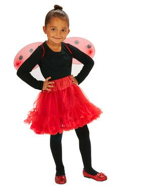 Lady Bug Toddler Wings