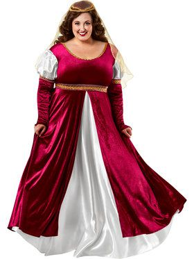 Lady Of Camelot Plus Size Adult Costume