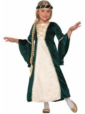 Lady Of Sherwood Girl's Costume