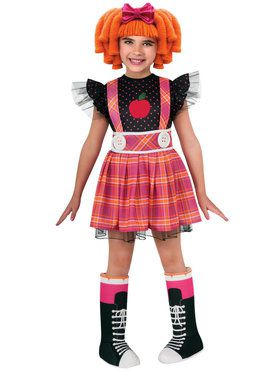 Lalaloopsy Deluxe Bee Spells A Lot Child Costume