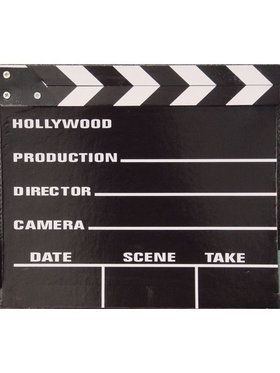 Large Movie Clapper Board