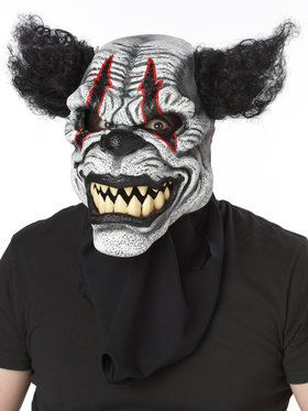 Last Laugh Clown Ani Motion Mask
