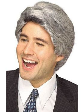 Mens Late Nite Tv Wig