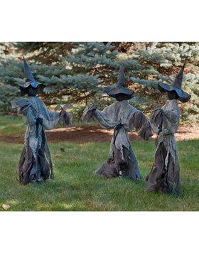 Lawn Witches Decoration