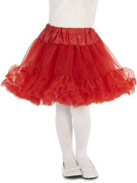Layered Tutu - Red For Children
