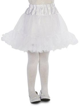 Layered Child Tutu - White