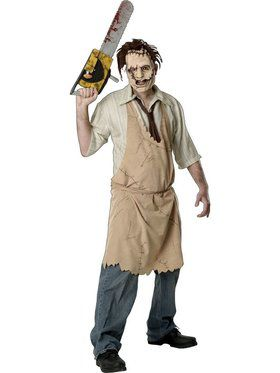Leatherface Official Adult Costume