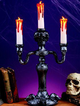 LED Haunted Mansion Candelabra