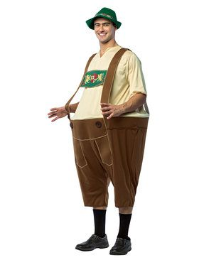 Lederhosen Hoopster Adult Costume