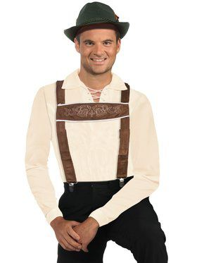 Suspenders for Lederhosen