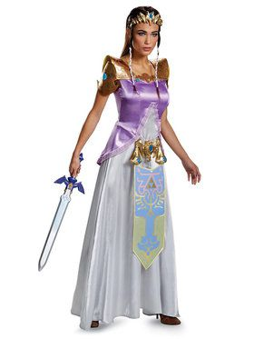 Legend of Zelda Princess Zelda Deluxe Costume For Adults
