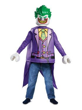 Lego Batman Classic Joker Costume for Children