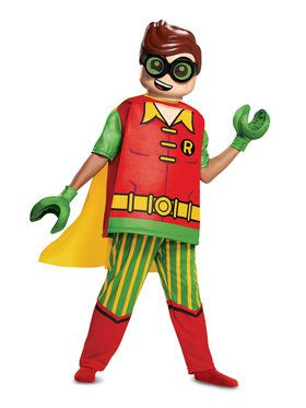 Lego Batman Deluxe Robin Costume for Kids