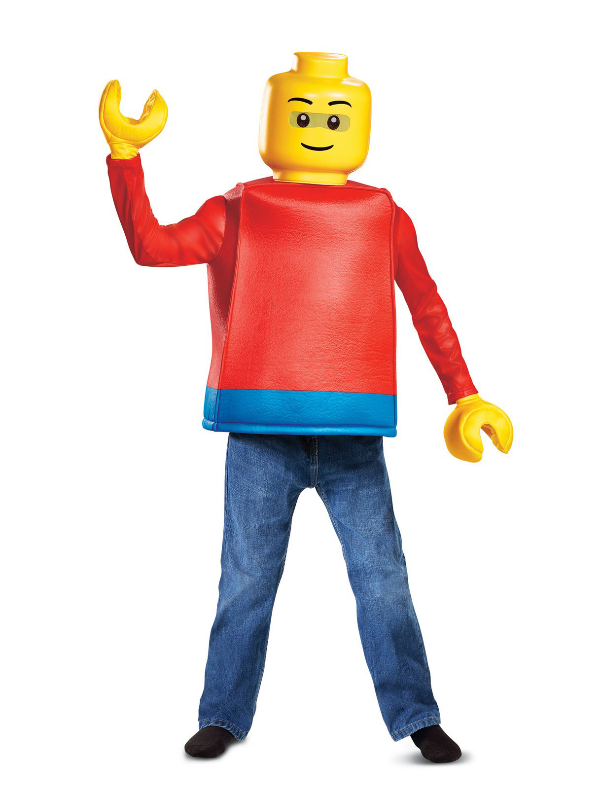 Disguise Inc Lego Iconic Classic Lego Guy Costume For Kids
