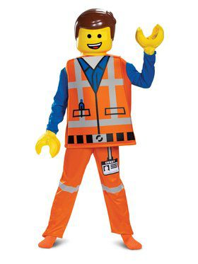 LEGO Movie 2 Deluxe Emmet Costume