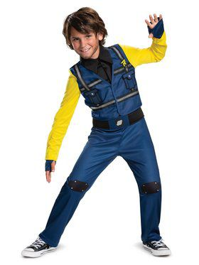 Lego Movie 2: Rex Dangervest Classic Jumpsuit Toddler Costume