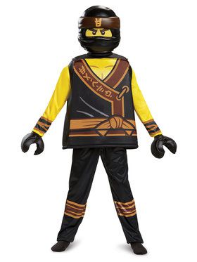 Lego Movie Cole Costume Deluxe For Children