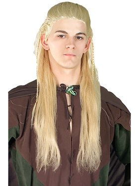 Adult Legolas Wig Lord of the Rings
