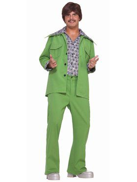 Leisure Suit Green Costume