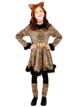Leopard Dress Costume For Children