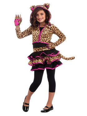 Leopard Hoodie Costume For Children