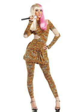 Leopard Print Rap Superstar Costume