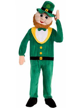 Leprechaun Mascot Men's Costume