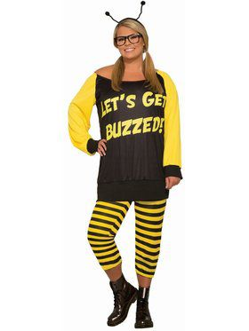 Let's Get Buzzed Plus Costume