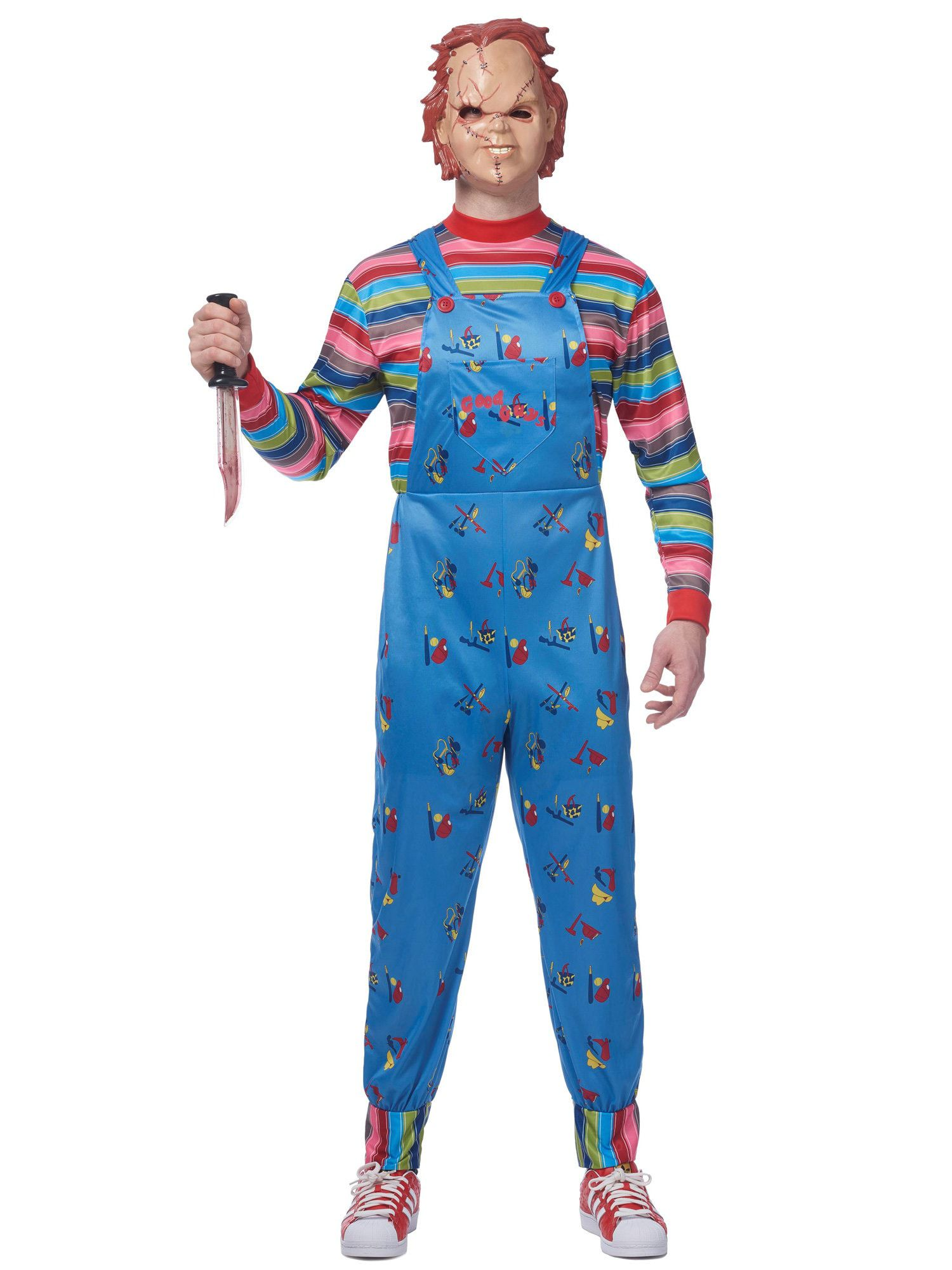 Licensed Chucky Costume w/mask Adult