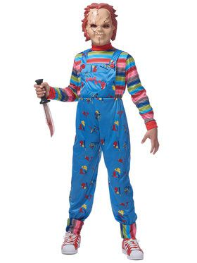 Child Chucky with Mask Costume