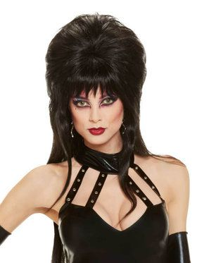 Licensed Elvira Teased Wig