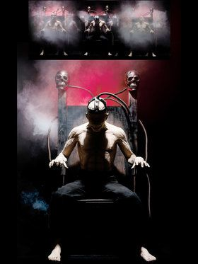 Life Sized Electric Chair with Body