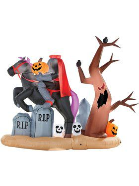 Lifesize Airblown Inflatable Headless Horseman