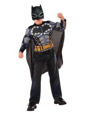 Light Up Batman Armor Boys Costume Set